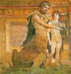 Chiron_teaching_Achilles