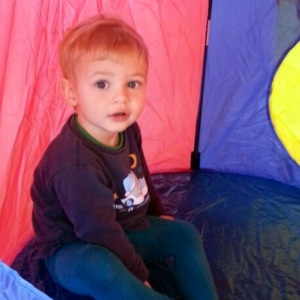 Little Guru in Tent
