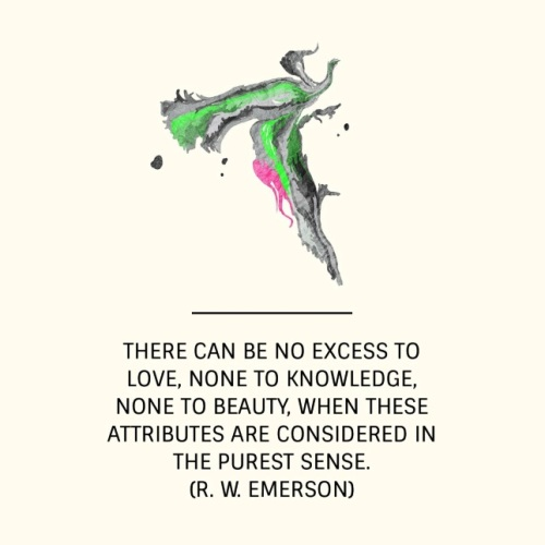 Quote Emerson Love Knowledge Beauty