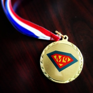 MAPP 9 Superhero Medal