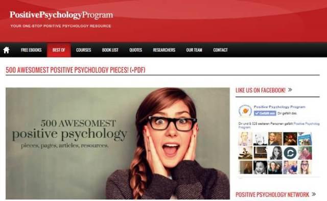 500 Positive Psychology Pieces