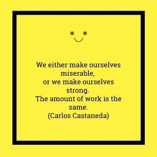 Happy Miserable Castaneda