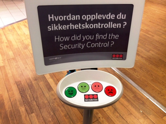 Feedback Button - Bergen, Norway