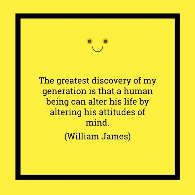 William James - Attitude