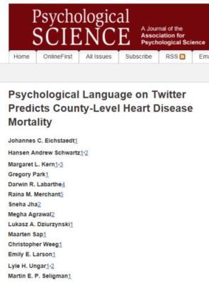 Twitter Heart Study
