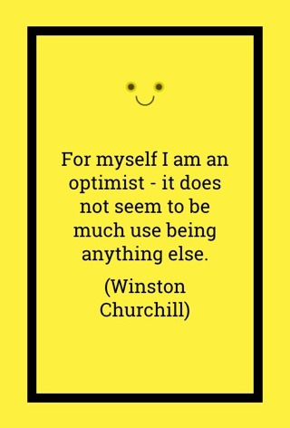Churchill - Optimist