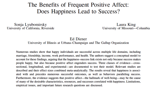the happy productive worker thesis