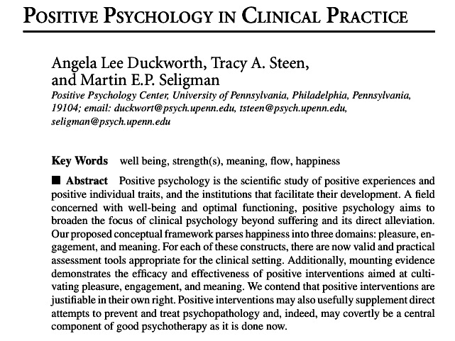 research papers on positive psychology Ten provocative 2010 studies in positive psychology what makes life worth living here's what recent studies suggest in this important line of research.