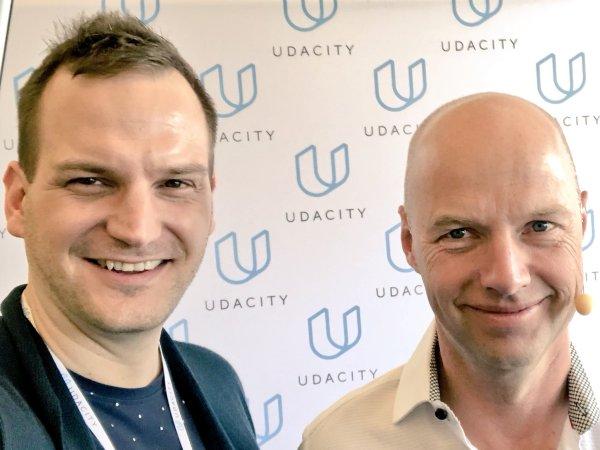 Nico Rose | Sebastian Thrun | Udacity Intersect