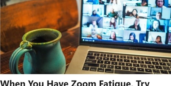 Zoom Fatigue | Nico Rose | Senia Maymin